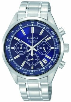 50a4d61232c Amazon.com  Seiko Men s SSB039 Special Value Chronograph Watch  Watches