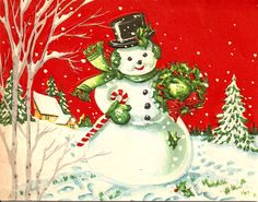 old christmas cards | Vintage Christmas Card
