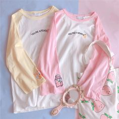 ♡ Shoppin 4 Cheap 'n' Cute Stuff ♡ Harajuku Fashion, Kawaii Fashion, Cute Fashion, Cheap Fashion, Cute Comfy Outfits, Cute Outfits For Kids, Cool Outfits, Cheap Kawaii Clothes, Cheap Clothes