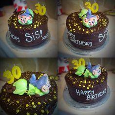 Happy birthday Beckie! Enjoy your Dopey chocolate fudge cake