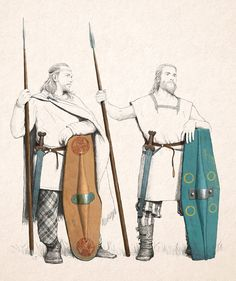 Senons gaul warriors, by Jose Daniel Cabrera Peña at ArtStation. Gaul Warrior, Irish Warrior, Celtic Shield, Celtic Clothing, Ancient Armor, Rome Antique, Germanic Tribes, Celtic Warriors, Celtic Culture