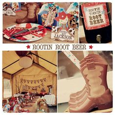 Rootin Tootin Western Party Invitations With by monkeymoomoo, $37.50