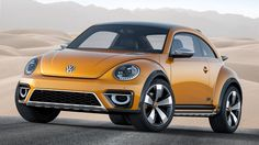 Volkswagen Beetle Dune Concept. A Beetle Turbo, now dressed for the desert.