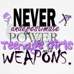 especially when that weapon is a baton ;)