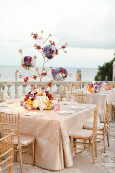 Outside Reception | Photography: KT Merry Photography,Event + Floral Design: Karla Conceptual Event Experiences
