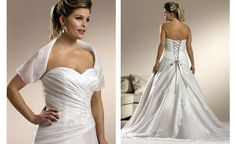 Vestidos de noiva para gordinhas...