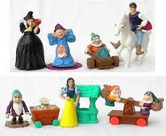 Snow White and the Seven Dwarfs McDonald's Happy Meal toys