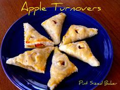 Pint Sized Baker: Apple Turnovers