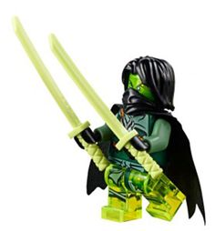 Mini Figures Evil LLOYD NINJAGO Fits Lego Blocks Toys Ghost MORRO