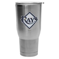 Tampa Bay Rays 32oz. Stainless Steel Keeper Tumbler with Lid