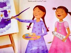 Purplicious by Elizabeth Kann and Victoria Kann. Read Aloud. Safe Share link to YouTube video.