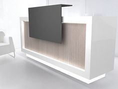 Introducing Our New Quad Tech Class 2 Series  Reception Desk!  The Quad Tech Class 2 Series reception desk was made to match clients with a higher standard in mind. Accepting nothing but excellence, this reception desk is what will add taste to any offices professionalism. Let the desk speak for itself... Free Shipping to all U.S. States excluding Alaska and Hawaii. Custom sizes available (Must Call Direct For Custom Sizes) **PRICES MAY VARY WITH CUSTOM SIZES**