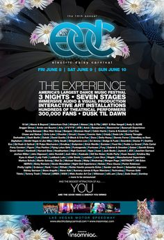 EDC 2013 and watching Sunnery James & Ryan Marciano bring the sun up was epic!