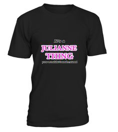 # T shirt It's a Julianne thing front .  tee Its a Julianne thing-front Original Design.tee shirt Its a Julianne thing-front is back . HOW TO ORDER:1. Select the style and color you want:2. Click Reserve it now3. Select size and quantity4. Enter shipping and billing information5. Done! Simple as that!TIPS: Buy 2 or more to save shipping cost!This is printable if you purchase only one piece. so dont worry, you will get yours.