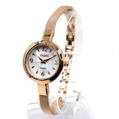 FW948A Rose Gold + PNP Band Rose Gold + PNP Watchcase White Dial Bracelet Watch