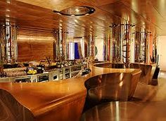 Bar at Hotel Duomo, Rimini, Italy, (2006), In Interior Architecture Now by Jennifer Hudson Book, p. 31