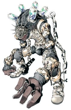 Golem - Pictures & Characters Art - Castlevania Judgment