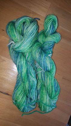 Sockenwolle 6fach langer Verlauf Sheep, Threading, Handarbeit
