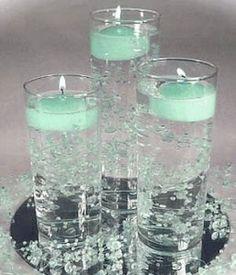aqua candles | lovely aqua candles