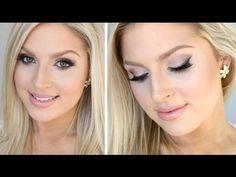 Wedding Makeup Tutorial ♡ Natural Glamorous Bridal Makeup - YouTube