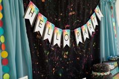 Hello Kitty Paint Splatter Party! | CatchMyParty.com