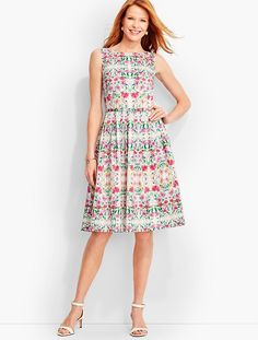 Flower Medley Dress - Talbots