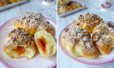 Mekane kiflice s orasima i pekmezom Kiflice Recipe, Strudel, French Toast, Bread, Cookies, Breakfast, Recipes, Food, Brot