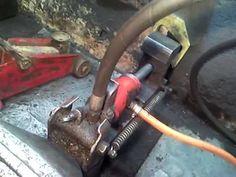 comment faire un étau hydroulique? rachid charchaf