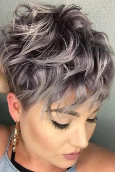 Messy Pixie Haircuts to Refresh Your Face, Women Short Hairstyles 2019 Messy Short Pixie Haircut, Very Short Hair Styles for Female Very Short Hair, Short Hair Cuts For Women, Short Curly Hair, Curly Hair Styles, Short Wavy Pixie, Wavy Hair, Summer Short Hair, Curled Pixie Cut, Short Bobs