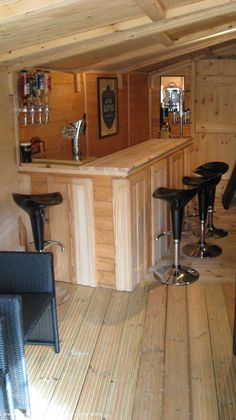 The Nasty Fettle, Pub Shed shed from Prudhoe Northumberland | Readersheds.co.uk