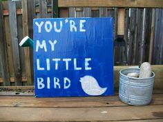 Little Bird - Ed Sheeran / Lyric Art / Canvas. $25.00, via Etsy. etsy.com/shop/TurquoiseAndRain