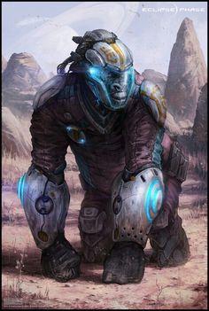 Transhuman explorer - artist?