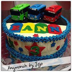 Tayo the Little Bus cake (Eann) (Angmorish by Jojo) Tags: birthday singapore homemade birthdaycake tayo fondant buttercream tayothelittlebus angmorish