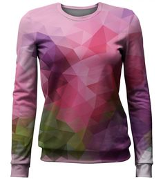 Violet Geometric sweater, Mr. GUGU & Miss GO