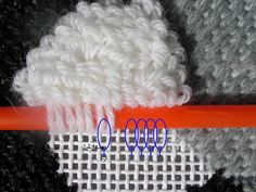 Good idea. And when you alternate rows with this technique, or use varying sizes of tools, it creates a wavy look.