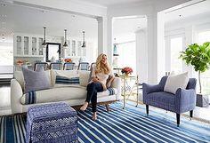Style guru Megan Pflug takes one small powder room from plain to perfect