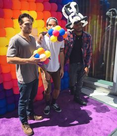 Tyler Posey, Dylan Sprayberry and Khylin Rhambo at SDCC 2016