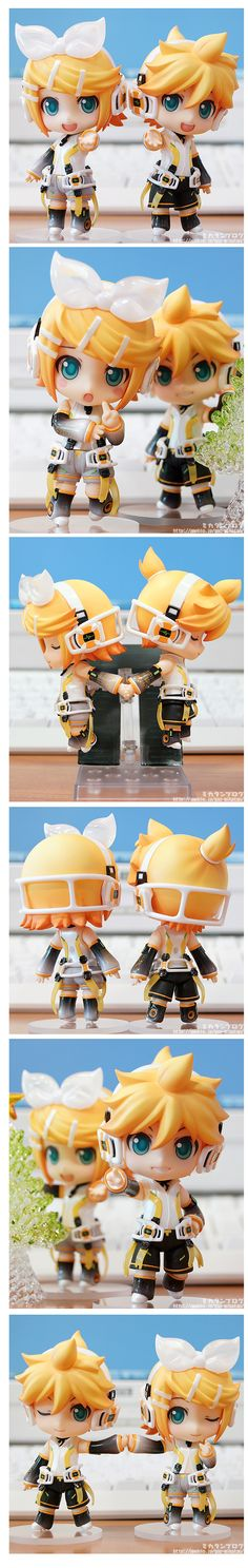 Nendoroid Kagamine Rin & Len: Append Preview