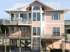 Featured Property of the Week: Best of Times - You can guarantee with this spectacular home, you'll enjoy the Best of Times and make fond memories that will continue for a lifetime. This 5 bedroom (2 kings, 3 queens and two bunk beds), 4 ½ bath rental is the perfect oceanfront accommodation for your family vacation.