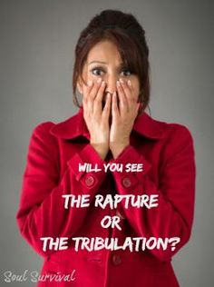 """The Rapture or the Tribulation: You Choose"" - There will be a day when, ""… the Lord Himself will descend from heaven with a shout … we who are alive and remain shall be caught up together with them in the clouds to meet the Lord in the air …"" (1 Thess. 4.16-17). There will also be those who think they're OK with God because of all the things they have done. They may be religious, but will realize too late that they were not truly saved and that they have been left behind. What about you?"