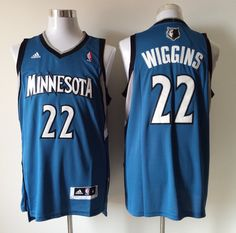 159e598cb Minnesota Timberwolves Cheap NBA Blue Andrew Wiggins Jersey