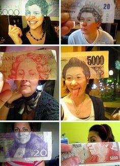 Наличные деньги вам к лицу