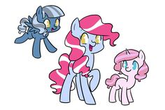Pinkie Daughters by kilala97 on deviantART