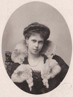 Princess Beatrice of Edinburgh, later Duchess of Galliera. 1900s