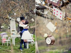 Alice in Wonderland Wedding Blog