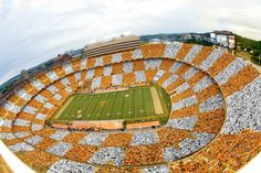 October When FL vs TN played. Tennessee became the number greatest Fan base by doing checkerboard Tennessee in Neyland stadium in all of college football, according to USA today, wall street journal, and Ncaa football committee Go Vols Tn Vols Football, Tennessee Volunteers Football, Tennessee Football, Football Stadiums, College Football, Football Season, Tennessee Game, Tennessee Waltz, East Tennessee