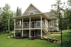 Two story traditional cottage.  House Plan 23-2038