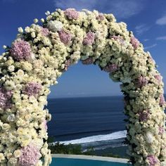 #weddingarch #weddingceremony repinned by wedding accessories and gifts specialists http://destinationweddingboutique.com