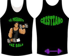 Camiseta - cristiano na academia
