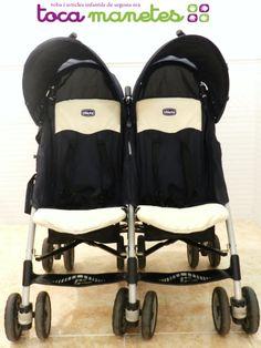 Carro de paseo gemelar marca Chicco. PVP TocaManetes: 95€. http://tocamanetes.com/es/62-silla-de-paseo-gemelar-chicco.html
